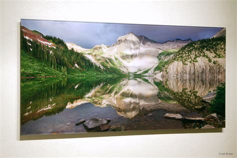 mounting posters without frames fine art mountain prints mountain photography by jack brauer