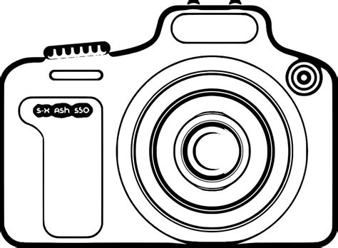 Camera Photography Lens · Free vector graphic on Pixabay Free Digital Clip Art Maker