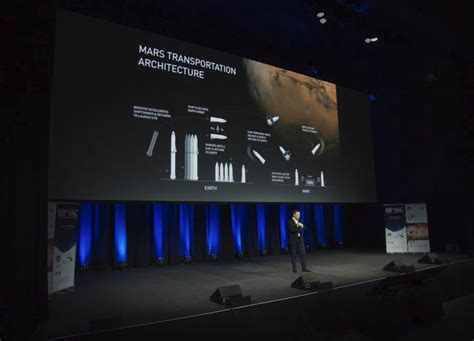 elon musk update elon musk presents an update on the spacex interplanetary