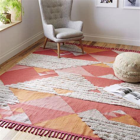west elm kilim rug shag wool kilim rug from west elm decoist