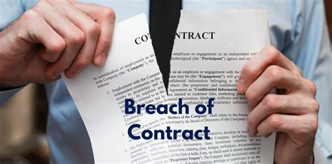 what is breach of contract in business lawsuits more about breach of contract advocate llp