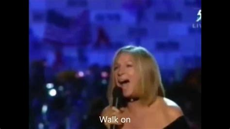 barbra streisand you ll never know you ll never walk alone by barbra streisand youtube