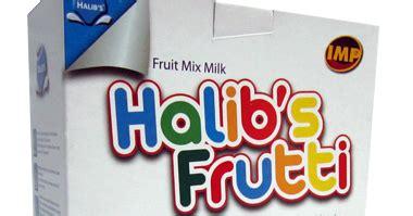 susu halibs frutti khasiat buah buahan  didalam