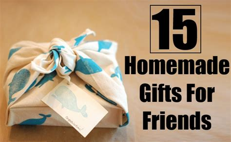 Handmade Gifts Ideas For Friends - 15 unique gifts for friends bash corner