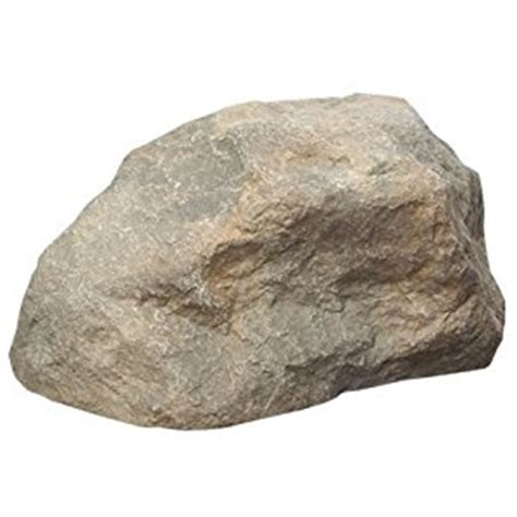 Faux Garden Rocks Small Faux Hollow Rock Approximately 17 Quot X 10 5 Quot Outdoor Decorative Stones