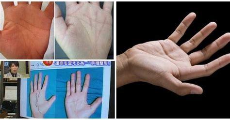 film misteri ramalan garis tangan ingin ubah nasib orang jepang demam operasi garis tangan