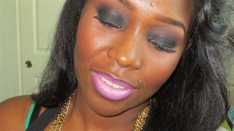 Nesha Black nesha blogs about and more black smokey eye with