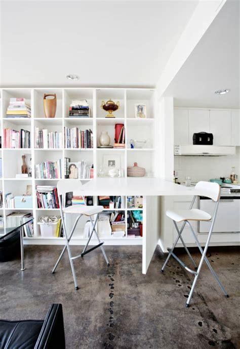 ways  create  dining space   tiniest kitchen