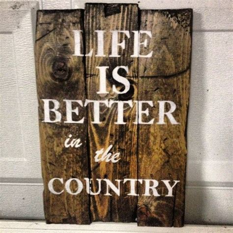 country home decor signs vintage rustic wooden sign home wall decor by tyscustomsigns i d replace in the country