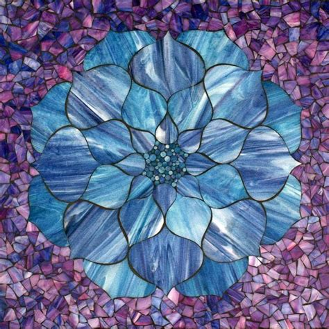 mosaic lotus pattern 1000 images about mosaics flowers on pinterest mosaic