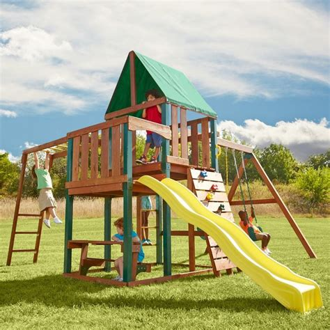 swing set kit with slide 17 best ideas about swing set kits on pinterest swing