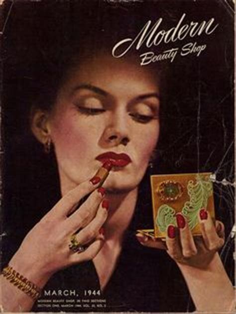 1940s Glam Made Modern Everyday by 1000 Images About Vintage Makeup Hair On