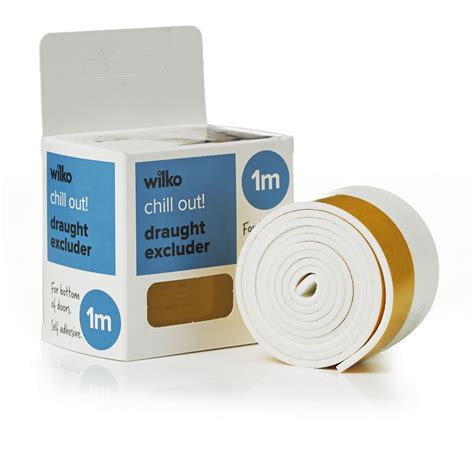 self adhesive wilko self adhesive door strip white at wilko com