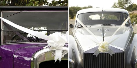 wedding car ribbon how to tie 10 great ways to use wedding ribbon confetti co uk