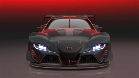 Toyota Vision Toyota Ft 1 Vision Gran Turismo Racer Debuts