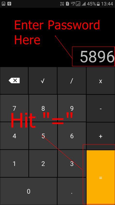 calculator hide app how to hide your top secret files inside the calculator on