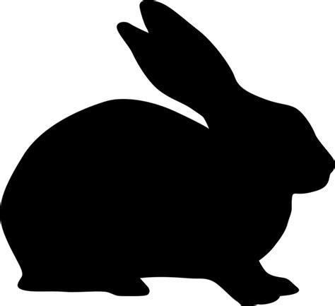 printable rabbit stencils rabbit stencil clipart best