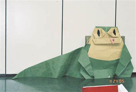 Jabba The Hutt Origami - celebration iii