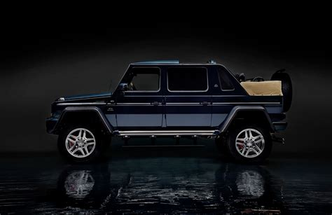 maybach landaulet mercedes maybach g650 landaulet sends out current g class