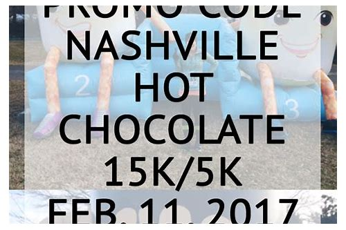 coupon code for hot chocolate run chicago 2018