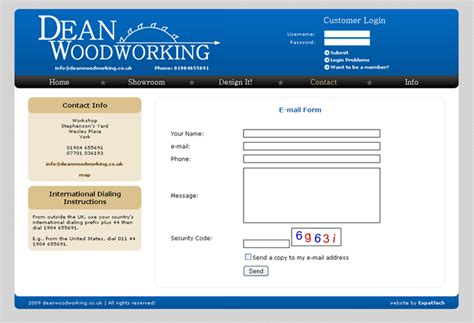 woodworkers web dean woodworking website projects in budapest by expattech
