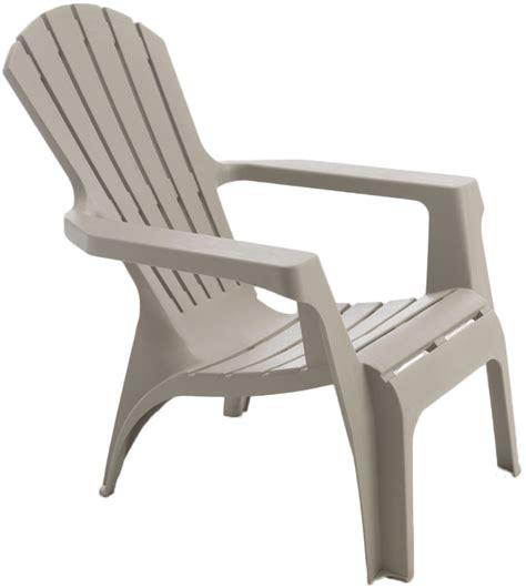 fauteuil en resine fauteuil adirondack en r 233 sine polypropyl 232 ne