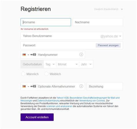yahoo mail zugangsdaten yahoo mail login anmelden und kostenlosen speicherplatz