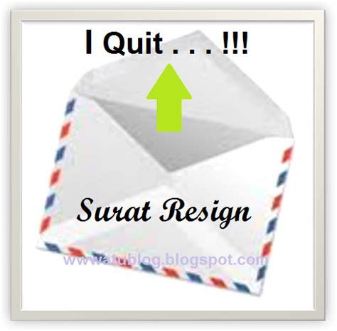 cara membuat surat pengunduran diri surat resign