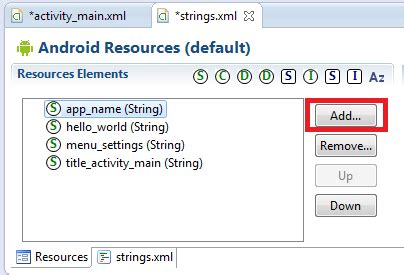 android layout xml string getting started with xml layouts