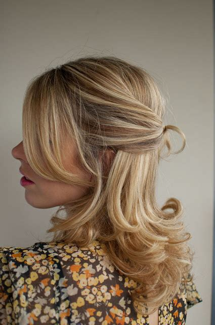 knotted half up half down hairstyles 30 days of twist pin hairstyles day 10 hair romance