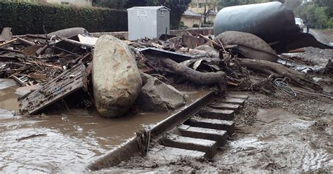 section 8 santa barbara california mudslides santa barbara county hit by floods a