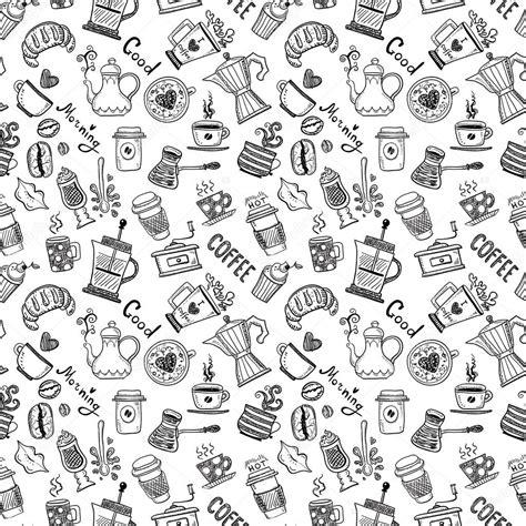 pattern coffee vector coffee pattern stock vector 169 orfeev 61547769