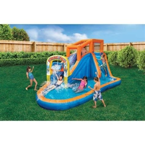 backyard inflatable pools inflatable water slide bouncer jumper waterslide kids