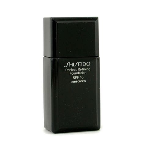 Shiseido Refining Foundation shiseido new zealand refining foundation spf15