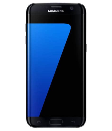 Samsung Galaxy S7 Edge 128gb Black samsung galaxy s7 edge 128gb black pearl mobile phones