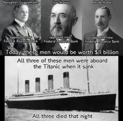 Titanic Sinking Conspiracy conspiracy theory says rothschilds fed proponents sank titanic business insider