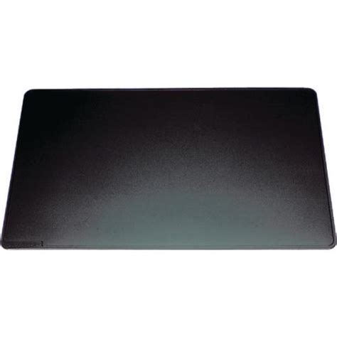 Office Desk Mats by Durable 40x53mm Desk Mat With Contoured Edge Black