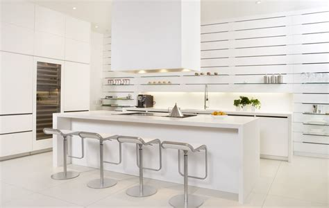 Modern Kitchen With White Cabinets Kitchen Design Ideas Modern White Kitchen Why Not