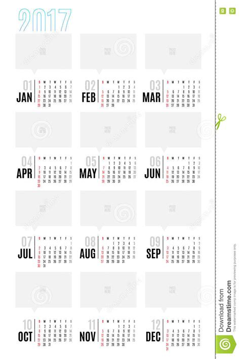 12 week year templates vector of calendar 2017 year 12 month calendar with