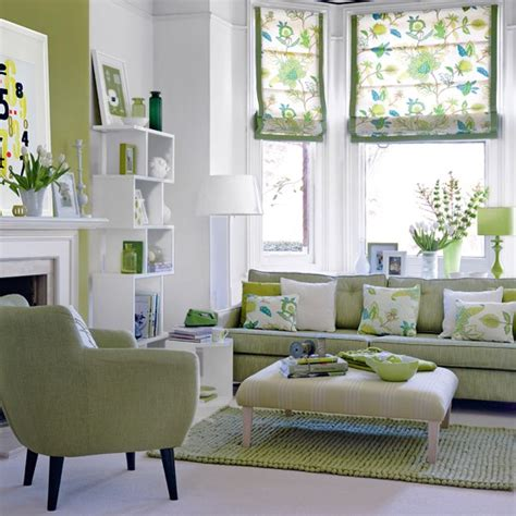 modern furniture decorating living room with mint green