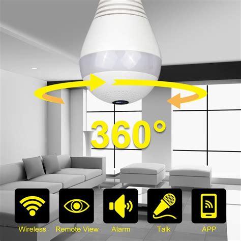 Ipcamera Cctvwifi Fish Eye 360 Degree Vr 3d Panoramic 960p 360 degree wireless ip bulb light fisheye smart home cctv 3d vr 1 3mp home