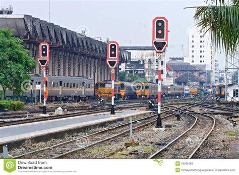 light rail ticket violation train signals and traffic light stock image image 16366189
