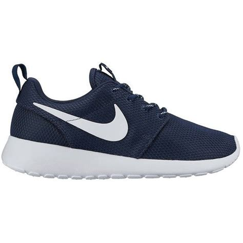 womens navy blue nike shoes nike roshe one 110 liked on polyvore featuring shoes
