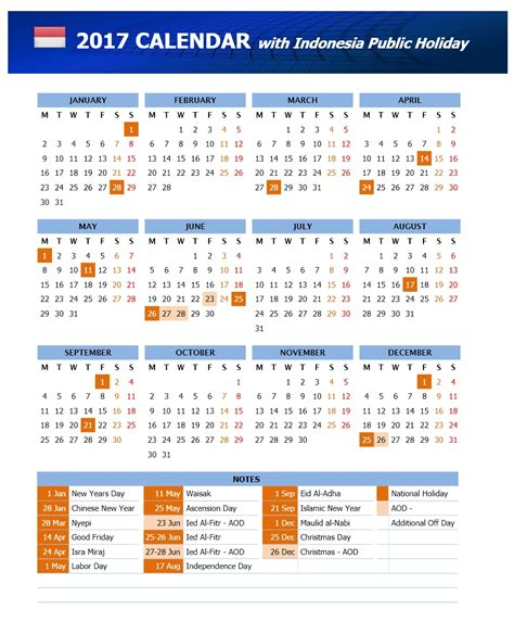 printable calendar 2018 indonesia 2016 calendar with julian dates sandal spon murah