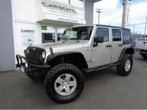 Jeep Wrangler 35 Inch Tires 2007 Jeep Wrangler Unlimited W Lift 35 Inch Tires