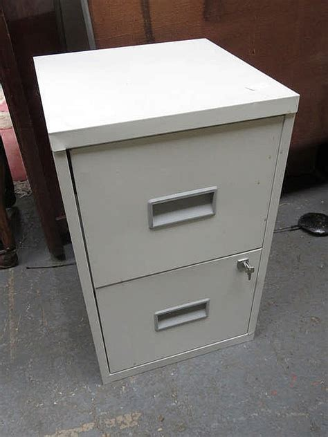 Asian Armoires Small Two Drawer Filing Cabinet