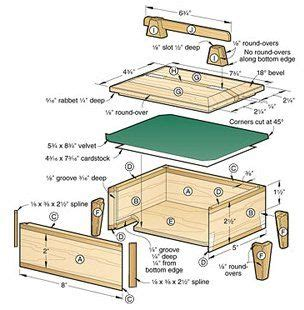 small wood box plans  small table plans