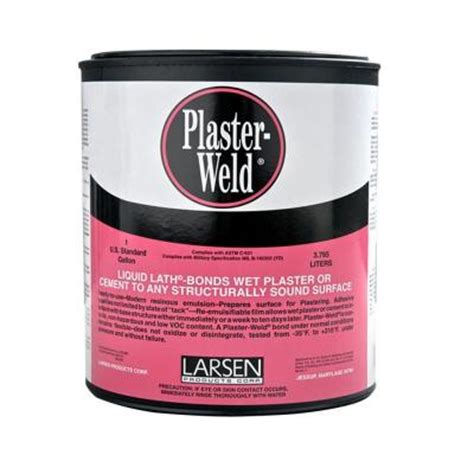 larsen 1 gal plaster weld 198089 the home depot