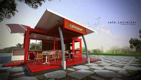 desain eksterior cafe minimalis jasa gambar desain 2d 3d murah berpengalaman desain