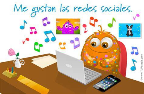 imagenes gratuitas redes sociales me gustan las redes sociales actividades tarjetas